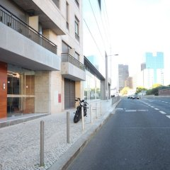 Отель Akicity Amoreiras In парковка