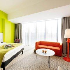 Отель Ibis Styles Wroclaw Centrum Стандартный номер с различными типами кроватей фото 3