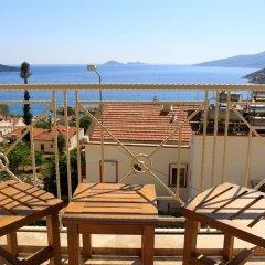 Villa Doruk by Akdenizvillam Турция, Калкан - отзывы, цены и фото номеров - забронировать отель Villa Doruk by Akdenizvillam онлайн балкон