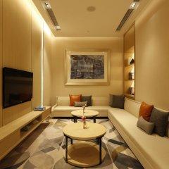 Отель Hyatt House Shanghai Hongqiao CBD Китай, Шанхай - отзывы, цены и фото номеров - забронировать отель Hyatt House Shanghai Hongqiao CBD онлайн комната для гостей фото 4
