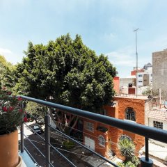 Апартаменты Beautiful Studio W/balcony Near La Condesa Мехико балкон