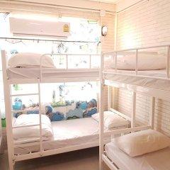 Mana Hostel Бангкок комната для гостей