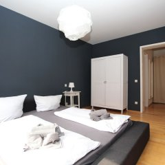 Апартаменты Boutique Apartments Leipzig комната для гостей фото 2