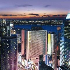 Отель New York Marriott Marquis США, Нью-Йорк - 8 отзывов об отеле, цены и фото номеров - забронировать отель New York Marriott Marquis онлайн балкон