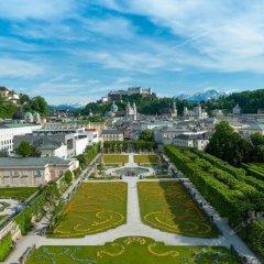 Altstadt Hotel Hofwirt Salzburg Зальцбург приотельная территория