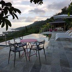 Отель Villa Manatea - Moorea Французская Полинезия, Папеэте - отзывы, цены и фото номеров - забронировать отель Villa Manatea - Moorea онлайн бассейн фото 2