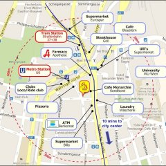 Отель Sobieski Apartments Sobieskigasse Австрия, Вена - отзывы, цены и фото номеров - забронировать отель Sobieski Apartments Sobieskigasse онлайн городской автобус