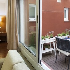 Отель Aparthotel Senator Barcelona балкон фото 2