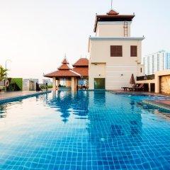 Отель Aiyara Palace Таиланд, Паттайя - 3 отзыва об отеле, цены и фото номеров - забронировать отель Aiyara Palace онлайн бассейн