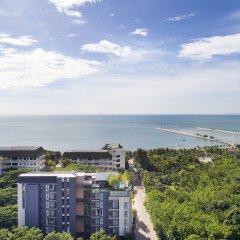 Отель X2 Vibe Pattaya Seaphere Residence пляж фото 2