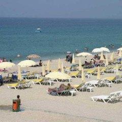 Отель Kleopatra Ikiz Otel пляж фото 2