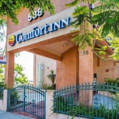 Отель Comfort Inn Monterey Park Монтерей-Парк бассейн