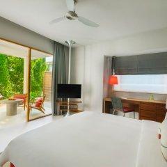 Отель Dhigali Maldives Мальдивы, Медупару - отзывы, цены и фото номеров - забронировать отель Dhigali Maldives онлайн комната для гостей фото 3