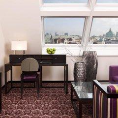 Отель Steigenberger Hotel Herrenhof Wien Австрия, Вена - 9 отзывов об отеле, цены и фото номеров - забронировать отель Steigenberger Hotel Herrenhof Wien онлайн комната для гостей фото 5