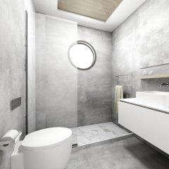 Отель Atrium Hotel Греция, Пефкохори - отзывы, цены и фото номеров - забронировать отель Atrium Hotel онлайн ванная