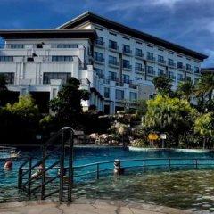 Отель Golden Bay Resort Китай, Сямынь - отзывы, цены и фото номеров - забронировать отель Golden Bay Resort онлайн приотельная территория фото 2