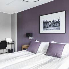 Отель Linneplatsens Hotell & Vandrarhem Гётеборг комната для гостей