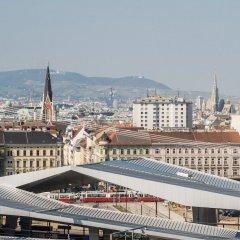 Star Inn Hotel Premium Wien Hauptbahnhof Вена балкон