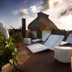 Отель Kinbe Deluxe Boutique Плая-дель-Кармен пляж
