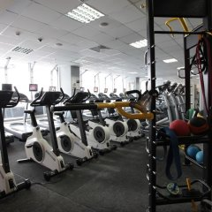 Гостиница Измайлово Гамма фитнесс-зал фото 3
