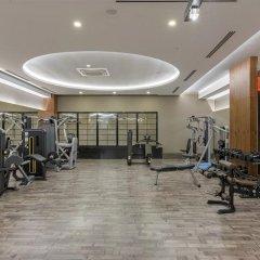 Отель Side Crown Sunshine Сиде фитнесс-зал