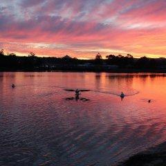 Отель Holiday Haven Burrill Lake Австралия, Сассекс-Инлет - отзывы, цены и фото номеров - забронировать отель Holiday Haven Burrill Lake онлайн приотельная территория фото 2