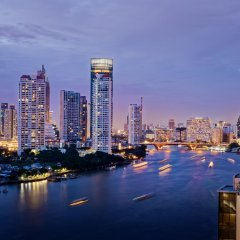 Отель Ramada Plaza by Wyndham Bangkok Menam Riverside балкон
