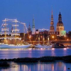 Отель Grand Palace Hotel Латвия, Рига - 1 отзыв об отеле, цены и фото номеров - забронировать отель Grand Palace Hotel онлайн приотельная территория фото 2