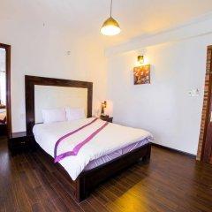 Отель Golden Peach Villa Hoi An комната для гостей