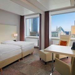 Отель Radisson Blu Hotel, Leipzig Германия, Лейпциг - отзывы, цены и фото номеров - забронировать отель Radisson Blu Hotel, Leipzig онлайн комната для гостей фото 4