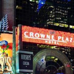 Отель Crowne Plaza Times Square Manhattan США, Нью-Йорк - отзывы, цены и фото номеров - забронировать отель Crowne Plaza Times Square Manhattan онлайн парковка