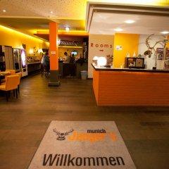 Отель Jaeger's Munich Германия, Мюнхен - отзывы, цены и фото номеров - забронировать отель Jaeger's Munich онлайн интерьер отеля фото 2