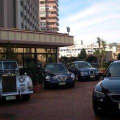 Отель San Paolo Palace Палермо парковка