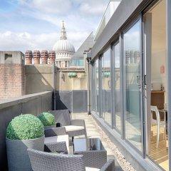 Отель Roomspace Apartments -Watling Street Великобритания, Лондон - отзывы, цены и фото номеров - забронировать отель Roomspace Apartments -Watling Street онлайн балкон
