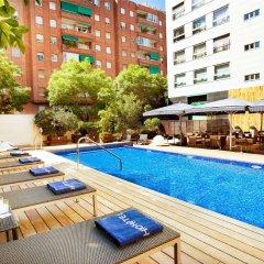 Отель H10 Itaca Испания, Барселона - отзывы, цены и фото номеров - забронировать отель H10 Itaca онлайн бассейн фото 2