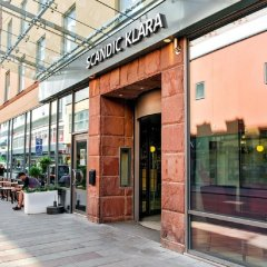 Отель Scandic Klara Стокгольм вид на фасад