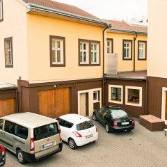 Отель NABUCCO Прага парковка