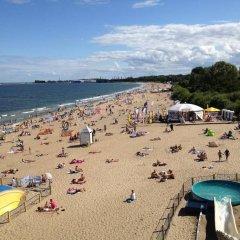 Hostel Gdansk Sun and Sea пляж