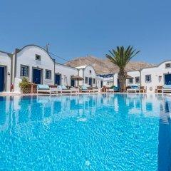 Отель Anezina Villas Греция, Остров Санторини - отзывы, цены и фото номеров - забронировать отель Anezina Villas онлайн бассейн фото 2