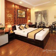 Отель Hanoi Golden Charm Hotel Вьетнам, Ханой - отзывы, цены и фото номеров - забронировать отель Hanoi Golden Charm Hotel онлайн комната для гостей фото 3