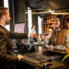 Clarion Hotel Grand Östersund гостиничный бар
