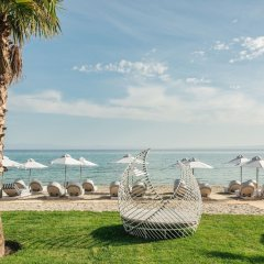 Отель Blue Carpet Luxury Suites Греция, Ханиотис - отзывы, цены и фото номеров - забронировать отель Blue Carpet Luxury Suites онлайн пляж