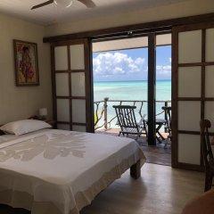 Отель Hakamanu Lodge Французская Полинезия, Тикехау - отзывы, цены и фото номеров - забронировать отель Hakamanu Lodge онлайн комната для гостей
