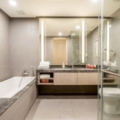 Отель 188 Serviced Suites & Shortstay Apartments Малайзия, Куала-Лумпур - отзывы, цены и фото номеров - забронировать отель 188 Serviced Suites & Shortstay Apartments онлайн ванная