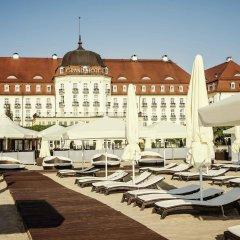 Отель Sofitel Grand Sopot пляж