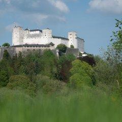Отель Sauerweingut Зальцбург приотельная территория