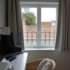 Отель de Voorplaats Бельгия, Брюгге - отзывы, цены и фото номеров - забронировать отель de Voorplaats онлайн комната для гостей фото 3