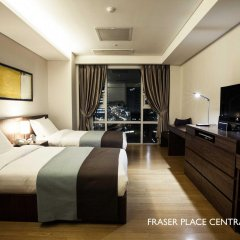 Отель Fraser Place Central Seoul Южная Корея, Сеул - отзывы, цены и фото номеров - забронировать отель Fraser Place Central Seoul онлайн комната для гостей фото 3