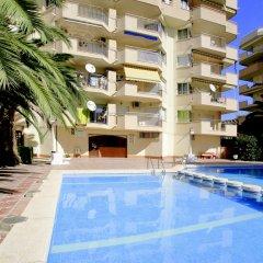 Отель Murillo Apartamentos Салоу бассейн