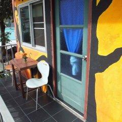 Отель Sabina Guesthouse Камала Бич балкон